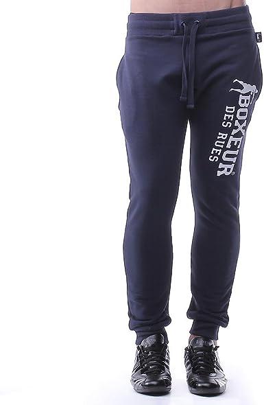 BOXEUR DES RUES BXE-1700G Pantalones Negro//Oro Hombre S