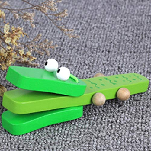 X-CRAFT Baby Musical Toys Lovely Music Instruments for Kids Baby Wooden Clapper Handle Musical Instruments Toys Educational Toys for Children (No Interest No Payments For 12 Months)