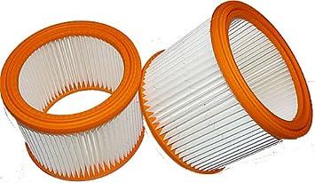 2 x Filter für Nilfisk Wap Alto ST 10//ST 20 //ST 25//ST 35 E//  EC 380-E Luftfilter