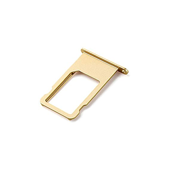detailed look 1eb17 aad40 Ewparts SIM Card Tray Replacement for Iphone 6 Plus 5.5 Inch (Gold)