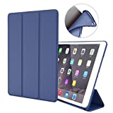 iPad Air Case,GOOJODOQ iPad Air PU Leather Smart Case Cover With Magnetic Auto