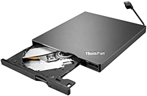 Lenovo External USB 3.0/2.0 ( 4XA0E97775) Slim Portable DVD Burner In The Lenovo Retail Sealed Packing for X1 Carbon And Yoga