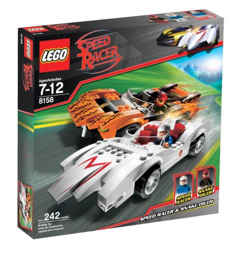 Amazon Com Lego Racers Speed Racer Snake Oiler Toys Games