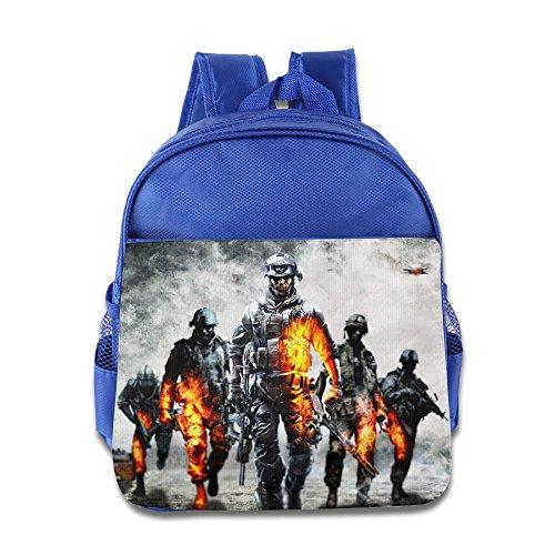 MoMo Unisex Battlefield 4 Poster Kids Backpacks Bags For Little Kids
