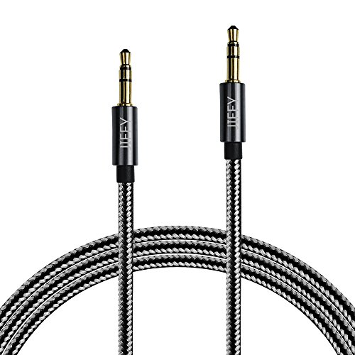 jiffy-35mm-nylon-tangle-free-male-to-male-premium-metal-audio-cable-4ft-12m-aux-cable-for-headphones