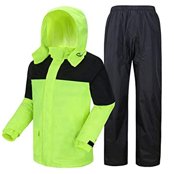 HGCX WY Impermeable Traje Impermeable, Adulto Hombres y ...