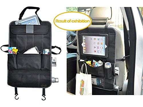 All One Tech Car Auto Front or Back Seat Organizer Holder Multi-pocket Travel Storage Bag Auto Car Back Seat Cover