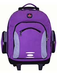 Academy Wheel Backpack Purple Color by amaro 52184