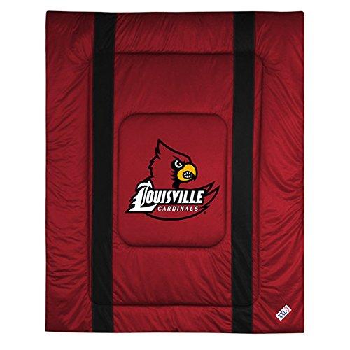 NCAA Louisville Cardinals Sideline Comforter Twin (Sidelines Texas Comforter)