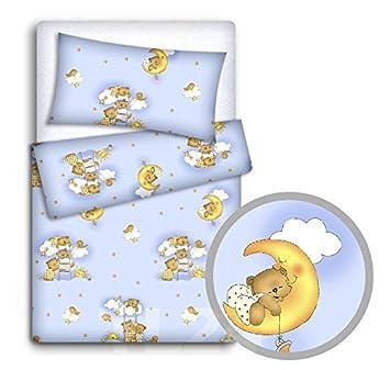 babymam Baby Bettwäsche Set Kissenbezüge/Bettbezug an Babybett, Jungle, 2-teilig TheLittles24 12090