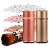 3pcs Retractable Makeup Cosmetic Brushes Face Blush