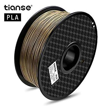 Amazon.com: Tianse, filamento de PLA para impresora 3D color ...