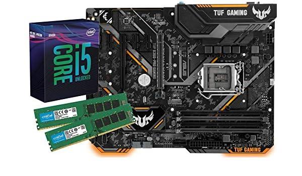 SNOGARD Ordenador Kit (Intel Core i5 – 7600 K Procesador, Asus Strix b250 F Gaming 16 GB DDR4 RAM/Desktop Computer ordenador de placa base Bundle/Actualización para PC//PC Tuning Kit: Amazon.es: Electrónica