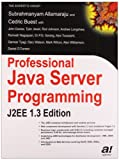 img - for Professional Java Server Programming: J2EE 1.3 Edition book / textbook / text book