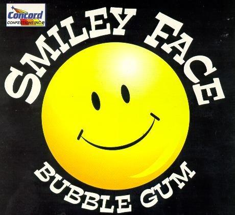 GUM Smiley Face Yellow 1