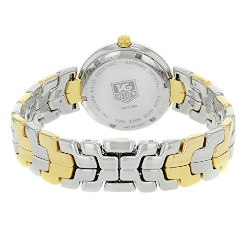 Tag Heuer Link quartz womens Watch WAT1350.BB0957 (Certified Pre-owned) by TAG Heuer (Image #3)