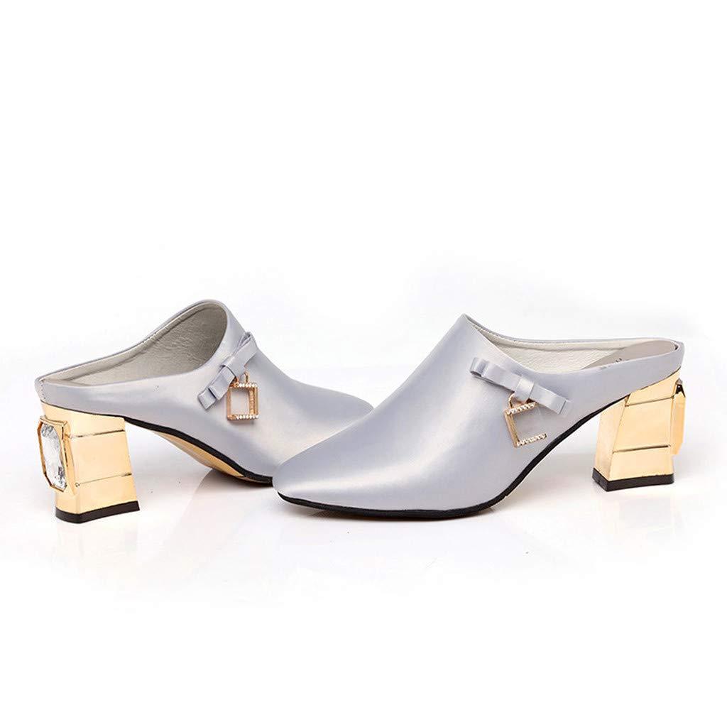 Sandalias de Mujer ❤ABsoar Chanclas Sandalias Moda Baotou Ligero Chanclas Adecuado para Interior Al Aire Libre Ocio Zapatos de Playa Sandalias y Chanclas ...