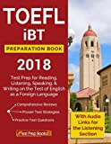 TOEFL iBT Preparation Book: Test Prep for Reading, Listening, Speaking, Writing on the Test of English as a Foreign Language