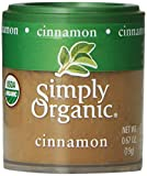 Simply Organic Cinnamon Ground (3% Oil) Certified Organic, 0.67-Ounce Containers (Pack of 6)