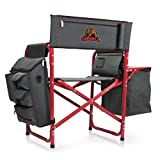 NCAA Cornell University Digital Print Fusion Chair, Dark Grey/Red, One Size