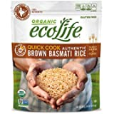 EcoLife Quick Cook Authentic Brown Basmati Rice (4 lbs.) (pack of 2)