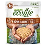 EcoLife Quick Cook Authentic Brown Basmati Rice (4 lbs.) (pack of 6)