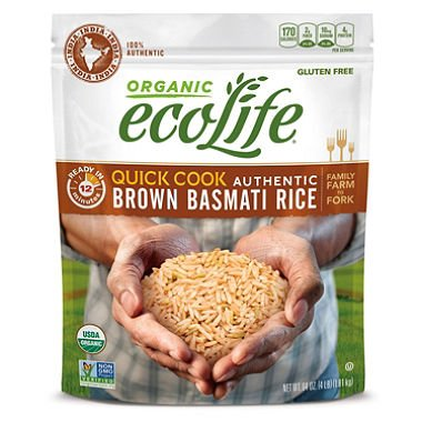 quick cook organic brown rice - 3