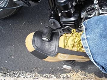 Leather motorcycle shoe boot protecter