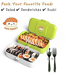Amazon.com: Cute Bento Lunch Box Kids - Gifts for Boy