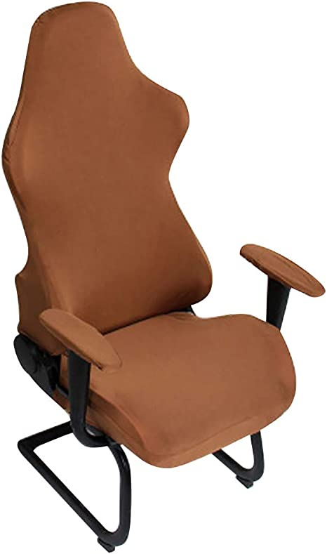 Office Computer Seat Chair Covers Stretch Spandex Anti-dirty 1PC 3 Sizes Gift