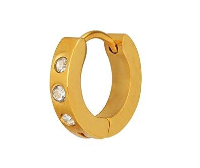 Stylepotion Smart Stylish 22k Gold Colour Plated American Diamond