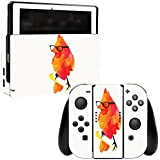 MightySkins Skin For Nintendo Switch - Punk Bird | Protective, Durable, and Unique Vinyl Decal wrap cover | Easy To Apply, Remove, and Change Styles | Made in the USA