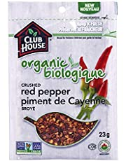 Club House, Quality Natural Herbs & Spices, Organic Crushed Red Pepper, 23g