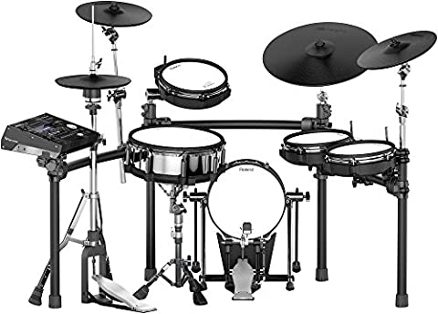 Roland TD-50K Electronic Drum Kit (Roland Drum Cymbals)