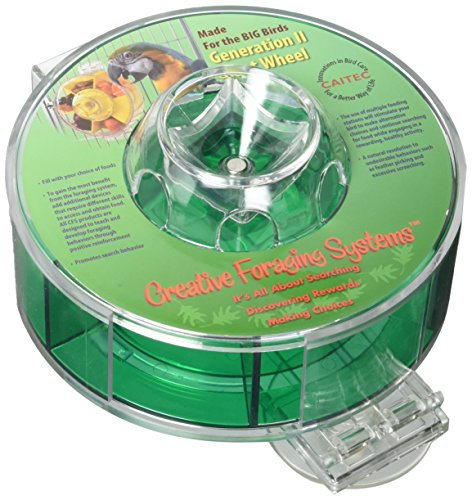 (Creative Foraging Systems+E487 CFS Foraging Wheel Gen Pet Feeder, Giant)