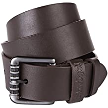 Shvigel Leather Men's Belt - Casual Jean & Dress Belt for Men - Gift Box