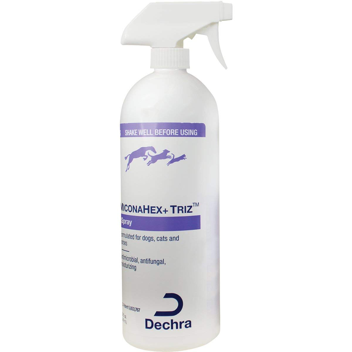 Dechra MiconaHex + Triz Spray for Dogs, Cats & Horses (32oz) by Dechra