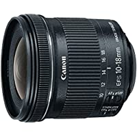 Canon - 10 mm to 18 mm - f/4.5 - 5.6 - Ultra Wide Angle Lens for Canon EF-S