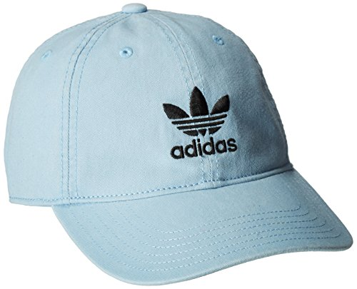adidas Women's Originals Relaxed Fit Cap, One Size, Ice Blue by adidas Originals