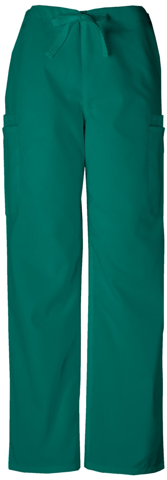Cherokee Workwear Originals Men's Drawstring Cargo Scrub Pant XXX-Large Petite Caribbean Blue