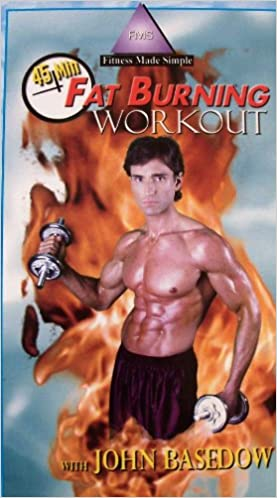45 Min Fat Burning Workout With John Basedow [VHS]: John