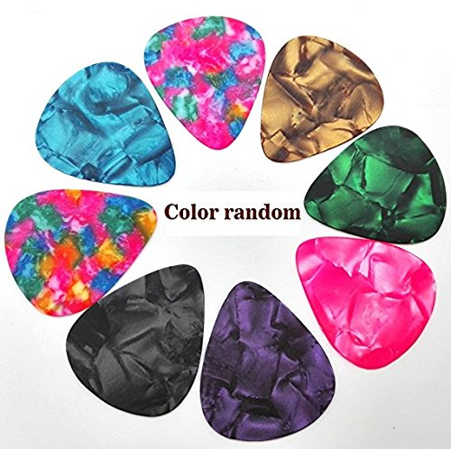 RUITO Guitar Picks Plectrums Colorful Clouds Classic Celluloid Bass Ukulele by RUITO (Image #3)