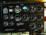 Flight Simulator Front Panel - Mask for monitor 22