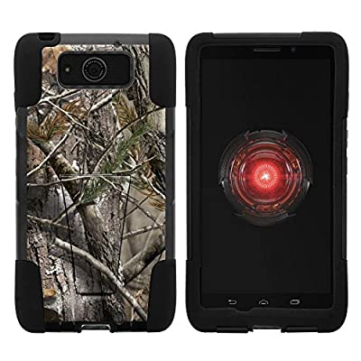 Motorola DROID MAXX Case, Motorola DROID Ultra Case, Full Body Fusion STRIKE Impact Kickstand Case with Exclusive Illustrations for Motorola DROID MAXX XT1080, Motorola DROID Ultra XT1080M (Verizon) from MINITURTLE | Includes Clear Screen Protector and St
