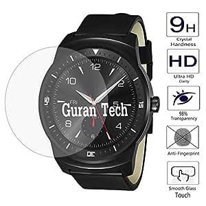 Guran® Protector de Pantalla Vidrio Cristal Templado Para LG G Watch R W110 Protector Film