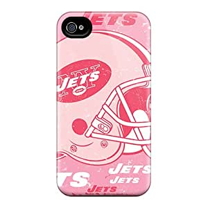 JonathanMaedel Iphone 4/4s Bumper Hard Phone Cover Customized Nice New York Jets Skin [RYE5125POLK]