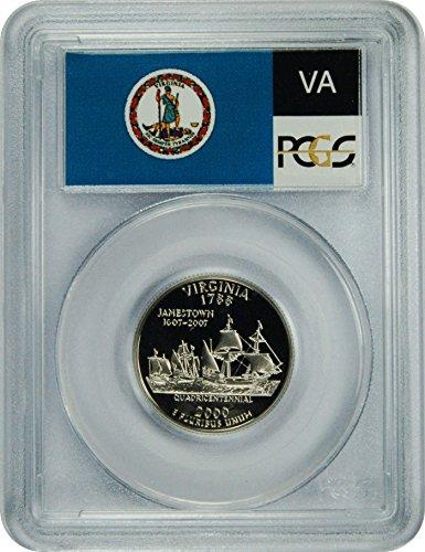 (2000 S Virginia Statehood Virginia Statehood Quarter DCAM PCGS PR-70)