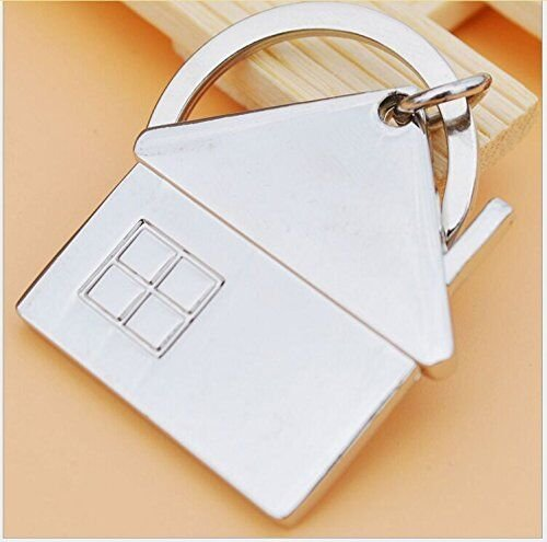 House Shaped Key Chain - Personalized Key Chain