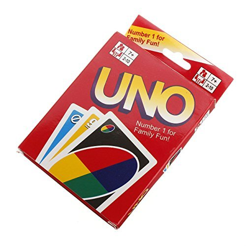 UNO Playing Cards Game For Family Friend 108 Standard Fun Travel Instruction by Unbranded*