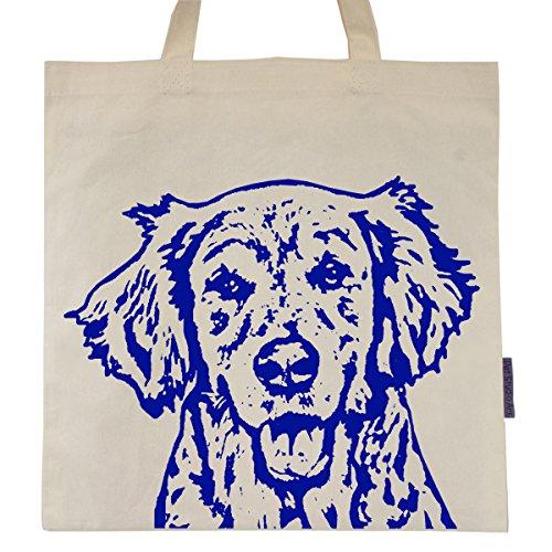 Retriever Tote Bag - Golden Retriever named Ginny Tote Bag